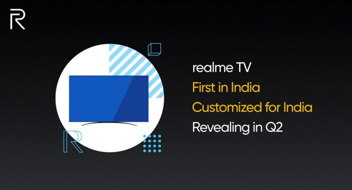 Realme TV Teaser Confirms MediaTek Processor Dolby Audio in Upcoming TV