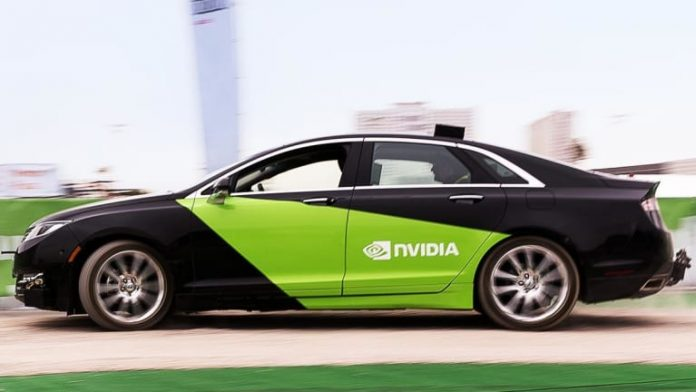 Nvidia Turns to Driver-Assistance Market as Robo-Taxis Stall